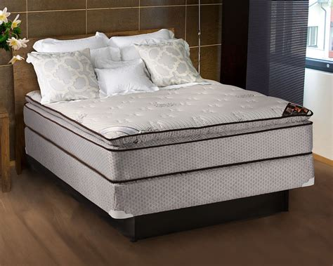 Spinal Comfort Pillowtop Full Size Mattress And Box Set Ebay Size Bed And Mattress
