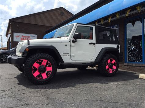 jeep matte pink pink jeep wheels 28 images i my matte black jeep but i