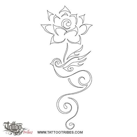 fiore di loto maori pi 249 di 25 fantastiche idee su tatuaggio con rondine su