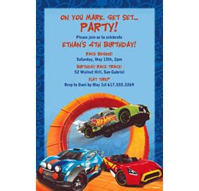 wheels card template custom wheels racer invitations thank you notes