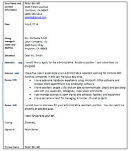 Cover letter block format examples