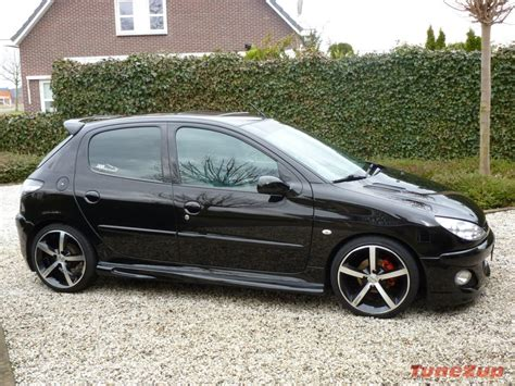 peugeot 206 tuning peugeot 206 tuning black imgkid com the image kid