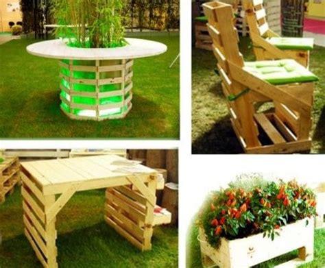 mobili da giardino con pallet costruire mobili da giardino con pallet mobilia la tua casa