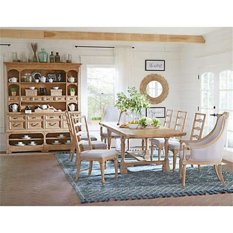 magnussen dining table d4281 20t magnussen home furniture rectangular dining table