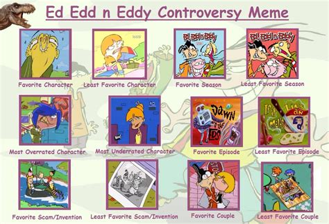 Ed Edd N Eddy Meme - my ed edd n eddy controversy meme by trefrex on deviantart