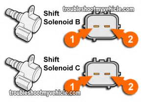 part 3 how to test shift solenoid b and c honda 2 2l 2 3l