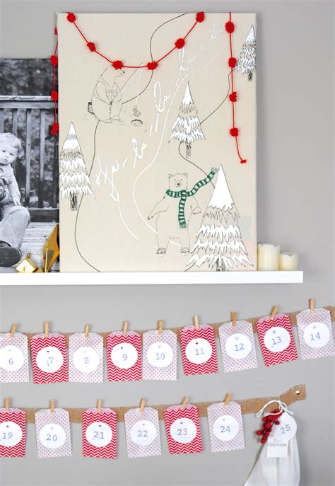 Inexpensive Advent Calendars Easy Advent Calendar Craft Idea