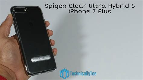 Spigen Iphone 7 Ultra Hybrid Original iphone 7 plus spigen ultra hybrid s review