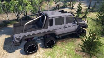 mercedes g65 amg 6x6 ultimate for spin tires
