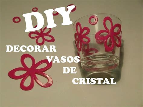 como decorar botellas de cristal con silicona diy decorar vasos de cristal con silicona youtube