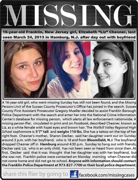The Missing list missing children loving acts 2 sayv lives