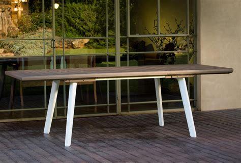 tavoli resina da esterno keter tavolo allungabile da giardino in resina tavolo da