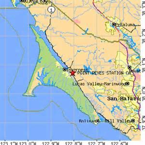 point reyes station california ca population data
