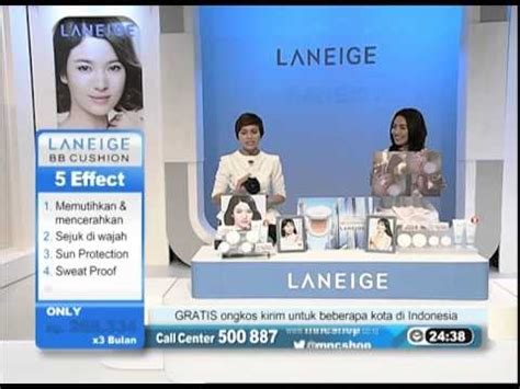 Jual Laneige Bb Cushion Mnc Shop laneige bb cushion package mnc shop product