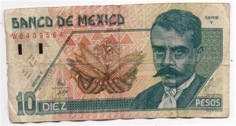 cuando se cobran los 800 pesos el billete de 10 pesos dej 243 de circular por esta raz 243 n