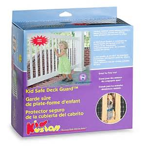 buy kidkusion 174 kid safe deck guard from bed bath beyond