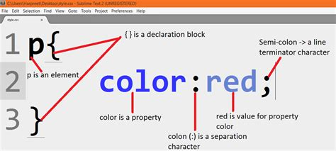 color properties basics of css part 1