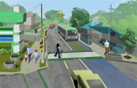 concept design halifax a plan for bus rapid transit it s more than buses