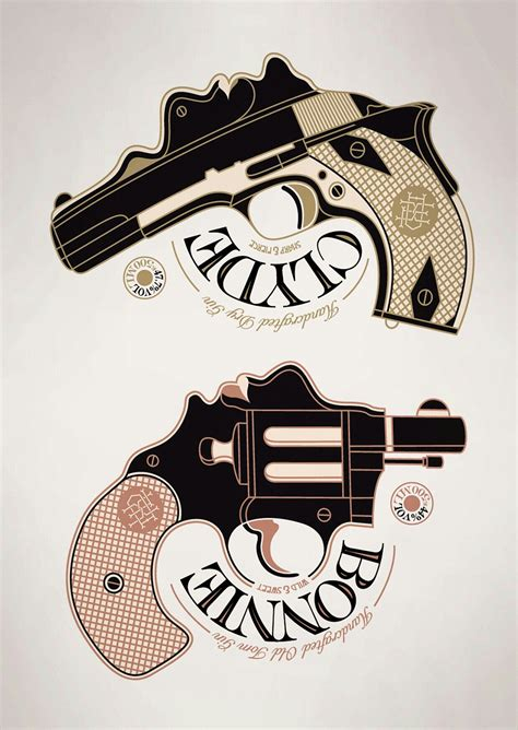 bonnie and clyde tattoos pin by on tattoos bonnie clyde