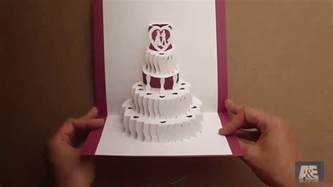 pop up template how to make a amazing wedding cake pop up card tutorial