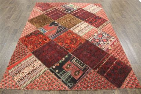 traditional patchwork rug catawiki
