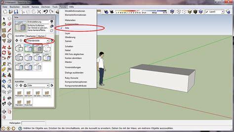 layout sketchup mm zeichenstil 228 ndern