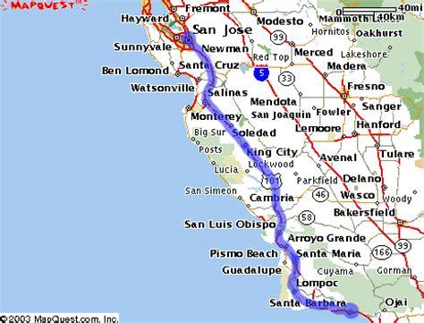 california map hwy 101 highway 101 california map