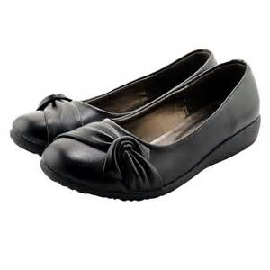 flat black shoes sepatuolahragaa black flat work shoes images