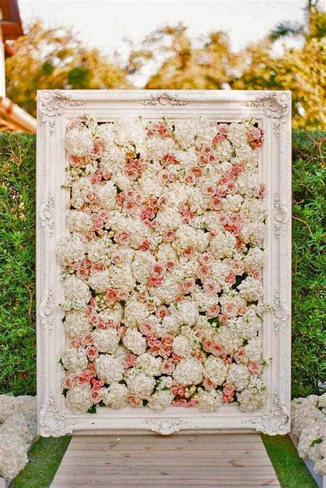 flowers decor 17 migliori idee su flower wall wedding su