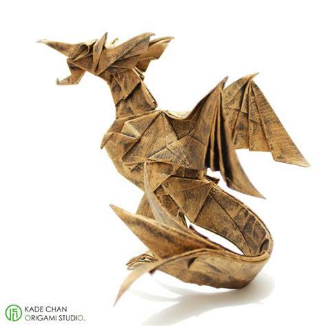 Origami Fiery - metallic fiery ver 2 designed by chan pak hei