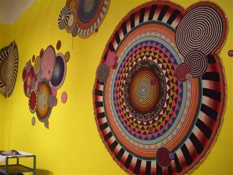 crochet art exhibit xenobia bailey