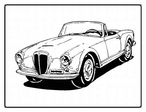 coloring sheets of old cars classic car coloring pages the old and muscle car