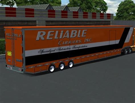 mod game 18 wos haulin car carrier replacement trailer 18 wos haulin mods
