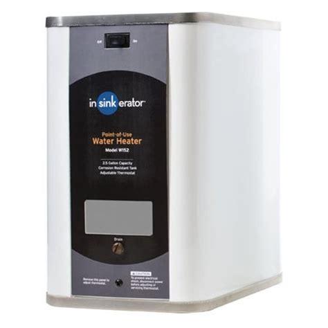 under cabinet instant water heater electric tankless water heaters insinkerator w152