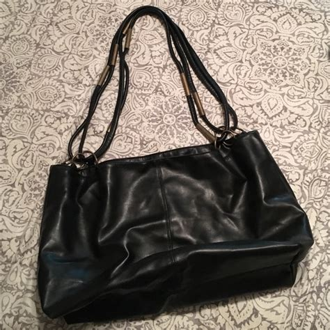 Lancome Bag 75 lancome handbags sale lanc 244 me black leather bag from melanie s closet on poshmark