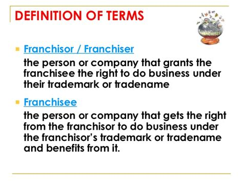 define systemize franchising intro