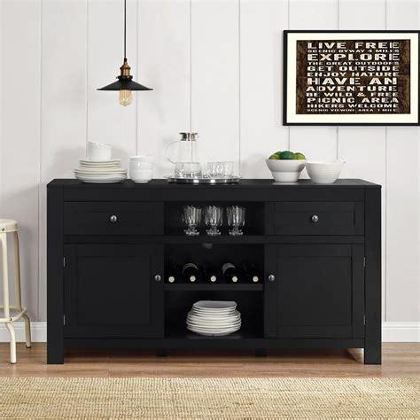 Home Decorators Collection Harwick Black Buffet 5442100210 Black Buffet