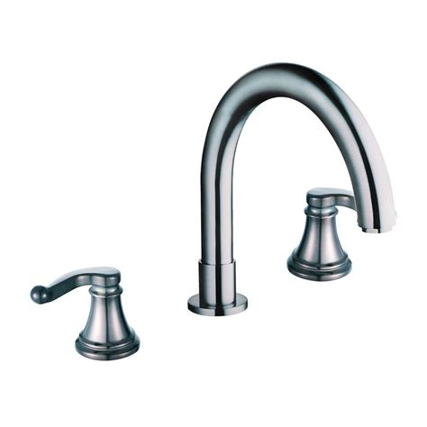 Tub Faucets Brushed Nickel by Yosemite Home Decor 2 Handle Deck Mount Tub Faucet
