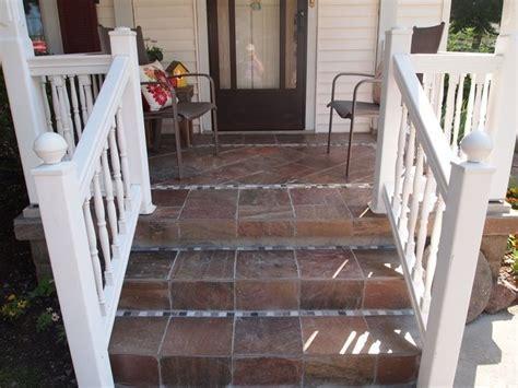 front porch tile project garden inspiration pinterest
