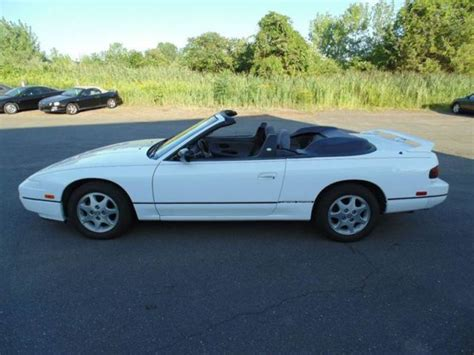 nissan convertible white 1994 nissan 240sx se convertible white ac cd only 95k