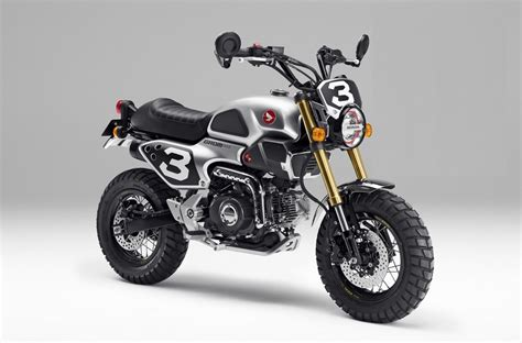 honda motorbike honda grom 50 scrambler concepts to be revealed at tokyo