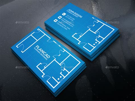 architecture business card by axnorpix graphicriver