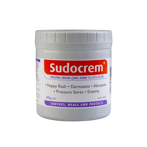 Sudocrem For Nappires And Dermatitis 60mg sudocrem 400g pak products
