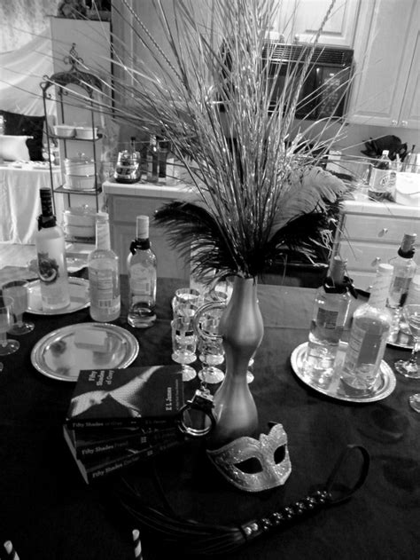 grey theme 40 best fifty shades of grey themed party images on