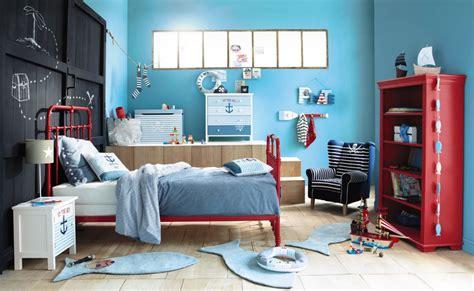 Impressionnant Idee Peinture Chambre Garcon #3: maison_du_monde_chambre_enfant_bleue.jpg