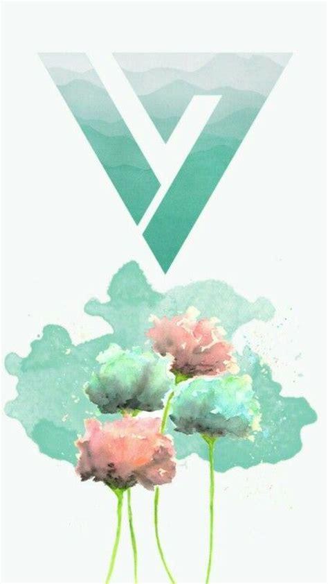 Theme Seventeen Kpop | seventeen logo theme turquoise seventeen pinterest