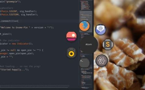 gnome pie themes gnome pie 0 6 9 visual app launcher released install on