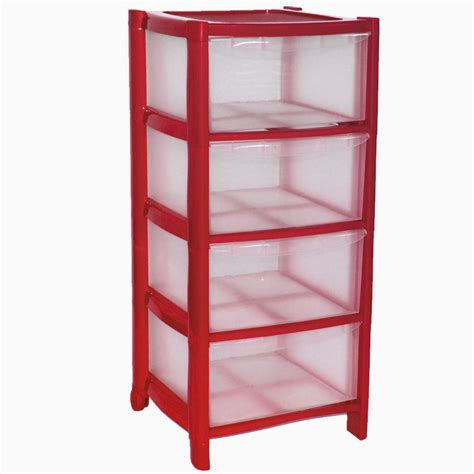 4 Drawer Plastic Cabinet by 4 Drawer Plastic Large Tower Cabinet Drawers Chest Unit