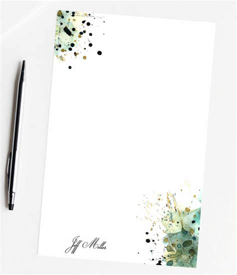 paper goods custom stationery paper stationary by