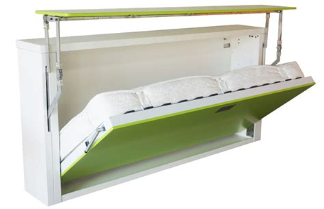 Fold Up Wall Bed A Larger Room Maker Homesfeed Fold Up Beds